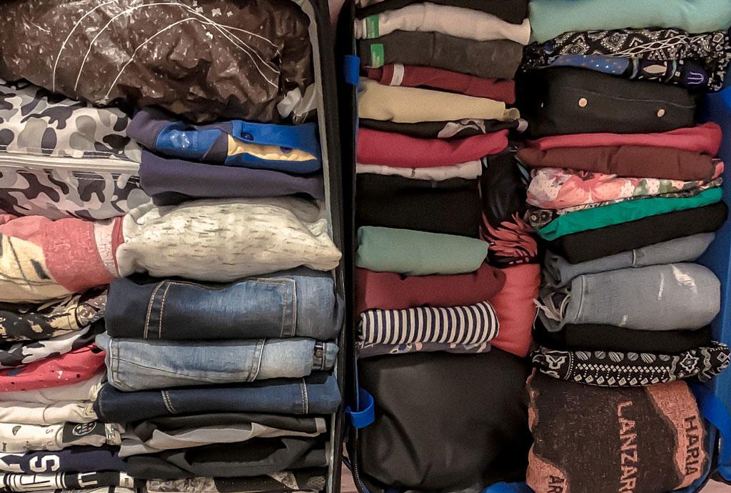 come organizzare la valigia